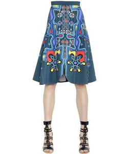 Peter Pilotto | Printed Crepe Midi Skirt