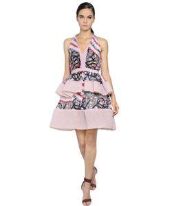 Peter Pilotto | Ruffled Organza Brocade Dress