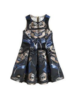 PHILIPP PLEIN JUNIOR   Catwoman Jacquard Party Dress