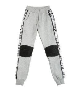 PHILIPP PLEIN JUNIOR | Logo Printed Cotton Jogging Pants