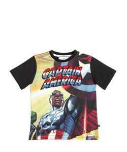 PHILIPP PLEIN JUNIOR | Embellished Cotton Jersey T-Shirt