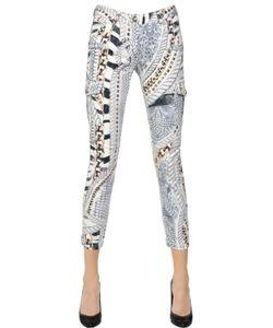 Pierre Balmain | Printed Stretch Cotton Denim Jeans