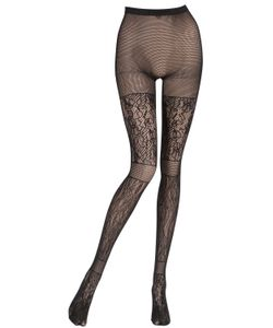 Pierre Mantoux | Paneled Lace Tights