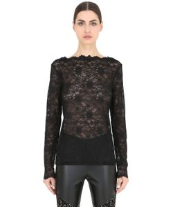 Pierre Mantoux | Lace Boatneck Top