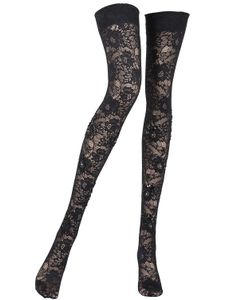 Pierre Mantoux | Sophia Lace Thigh High Stockings