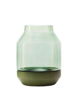 MUUTO   Elevated Wood Glass Vase