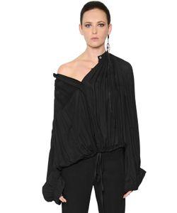Ann Demeulemeester | Блуза Из Вискозного Крепа