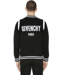 Givenchy | Куртка-Бомбер Из Полушерстяного Трикотажа