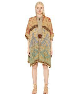 Polo Ralph Lauren   Beacon Cotton Linen Knit Poncho