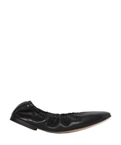 Pomme D'Or | Elastic Leather Ballerinas