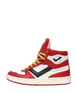 Pony | City Wings Basket Ball Leather Sneakers