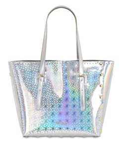 POP BAG BY J&C | Medi Holographic Leather Tote Bag