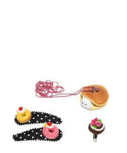POP CUTIE | Funny Cat Ring Necklace Hairclip Set