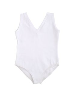 PORSELLI | Sleeveless Cotton Leotard
