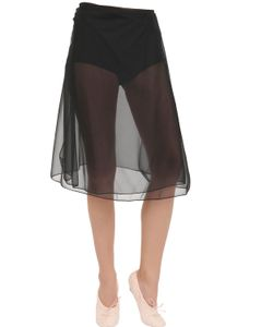 PORSELLI | Silk Charmeuse Wrap Skirt