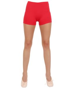 PORSELLI | Stretch Cotton Hot Pants