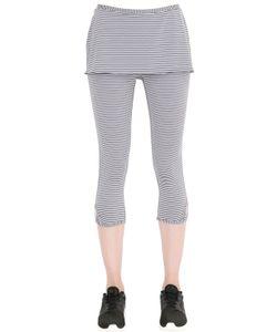 PRANA | Striped Microfiber Leggings