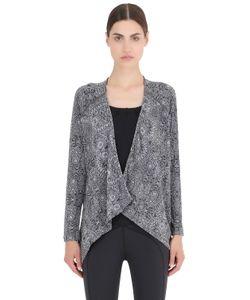 PRANA | Burnout Cotton Blend Jersey Wrap Jacket