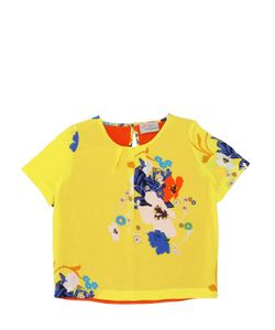PREEN MINI | Millie Floral Printed Viscose Top