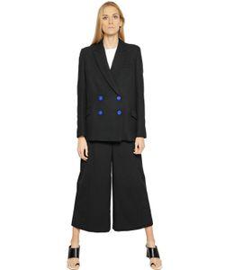 Proenza Schouler | Wool Crepe Knit Jacket