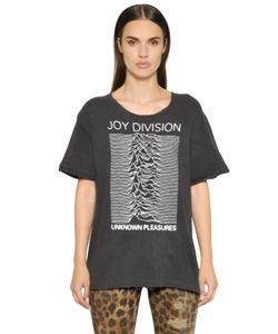 R13   Joy Division Printed Cotton T-Shirt