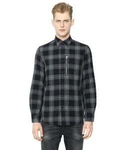 R13 | Zip Pocket Japanese Plaid Shirt