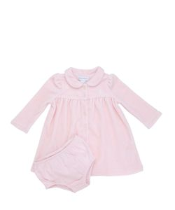RALPH LAUREN CHILDRENSWEAR | Chenille Dress Jersey Diaper Cover