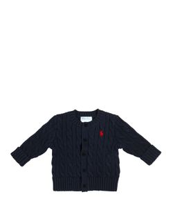 RALPH LAUREN CHILDRENSWEAR | Heavy Cotton Cable Knit Cardigan