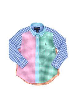 RALPH LAUREN CHILDRENSWEAR | Cotton Oxford Button Down Shirt