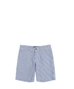 RALPH LAUREN CHILDRENSWEAR | Cotton Seersucker Shorts