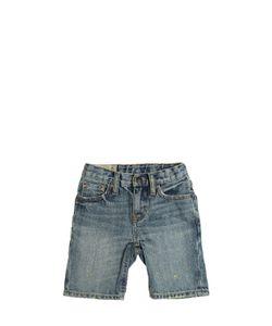 RALPH LAUREN CHILDRENSWEAR | Washed Stretch Cotton Shorts