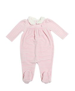 RALPH LAUREN CHILDRENSWEAR | Cotton Chenille Romper