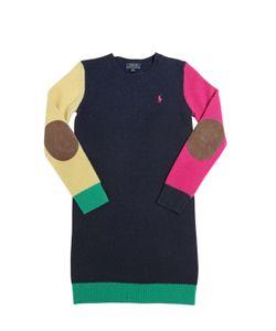RALPH LAUREN CHILDRENSWEAR | Wool Sweater Dress
