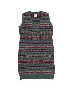 RALPH LAUREN CHILDRENSWEAR | Cotton And Merino Wool Dress