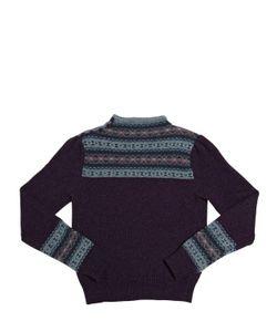RALPH LAUREN CHILDRENSWEAR | Cotton And Wool Crewneck Sweater