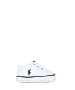 RALPH LAUREN CHILDRENSWEAR | Nappa Leather Slip-On Sneakers