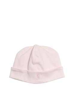 RALPH LAUREN CHILDRENSWEAR | Embroidered Logo Cotton Jersey Hat