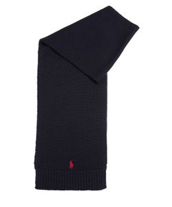 RALPH LAUREN CHILDRENSWEAR | Knitted Wool Scarf