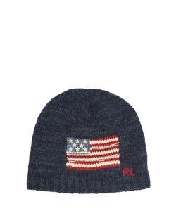 RALPH LAUREN CHILDRENSWEAR | American Flag Tricot Cotton Hat