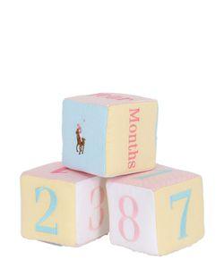 RALPH LAUREN CHILDRENSWEAR | Set Of 3 Patchwork Cotton Toy Dice