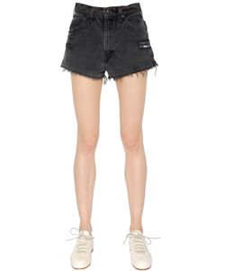 RE DONE | Destroyed Vintage Denim Shorts