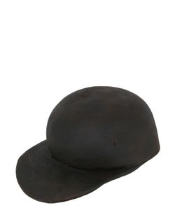 Reinhard Plank | Usa Wool Leather Effect Waxed Hat