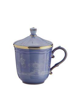 RICHARD GINORI 1735 | Oriente Italiano Mug W/ Gold