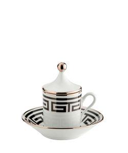 RICHARD GINORI 1735 | Labirinto Black Espresso Set For 2