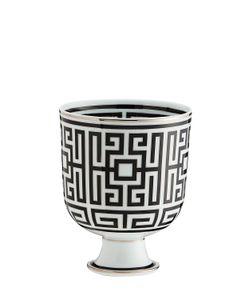 RICHARD GINORI 1735 | Labirinto Black Porcelain Cachepot