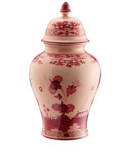 RICHARD GINORI 1735 | Oriente Italiano Porcelain Vase With Lid