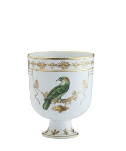 RICHARD GINORI 1735 | 19cm Voliere Ceramic Cachepot