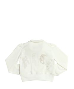 RICHMOND JUNIOR | Handmade Embroidered Cotton Sweatshirt