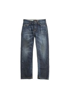 RICHMOND JUNIOR | Painted Washed Stretch Jeans