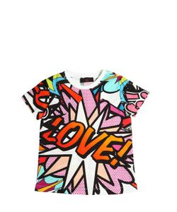 RICHMOND JUNIOR | Pop Art Printed Cotton Jersey T-Shirt